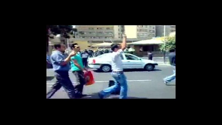 Video Írán zahajuje soud s demonstranty