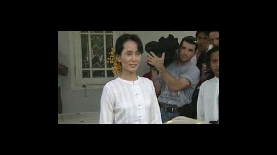 Video Rozsudek nad Su Ťij opět odložen