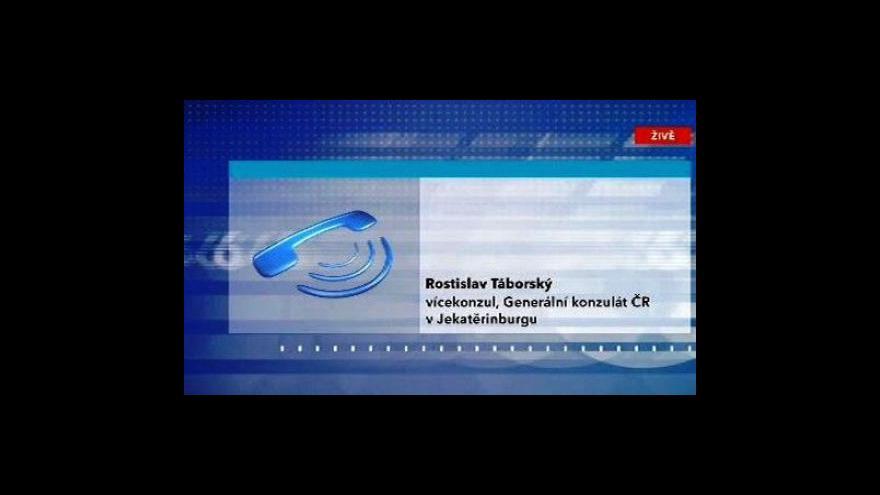 Video Telefonát Rostislava Táborského