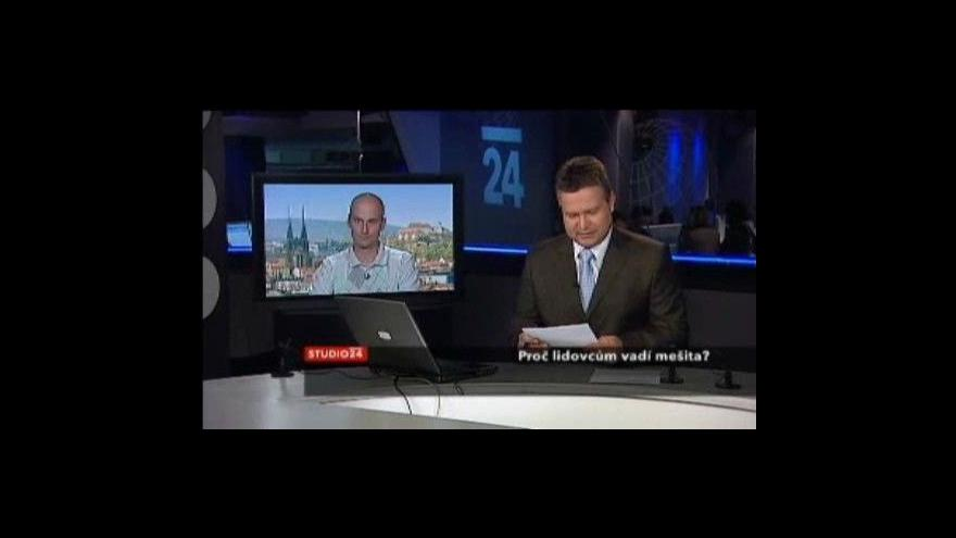 Video David Macek a Muníb Hasan ve Studiu ČT24