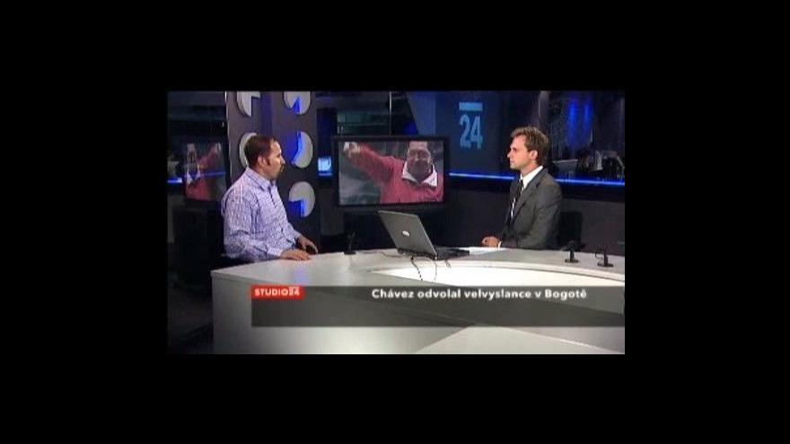 Video Filip Kanda ke studené válce mezi Kolumbií a Venezuelou