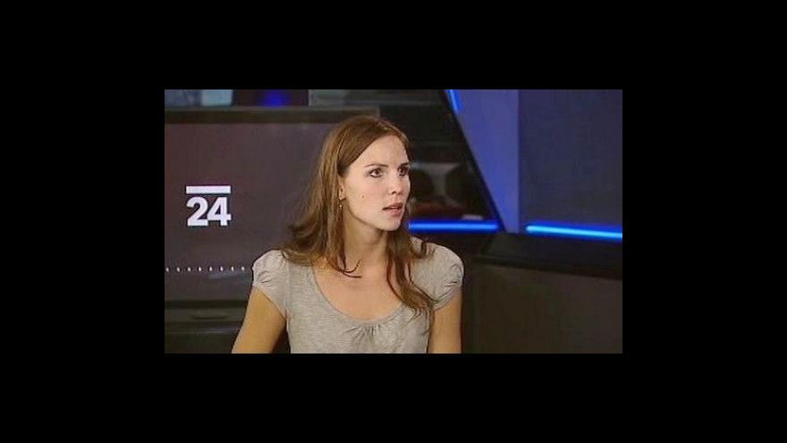 Video Rozhovor s redaktorkou ČT Terezou Kručinskou
