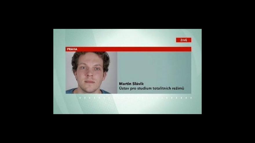 Video Telefonát Martina Slávika