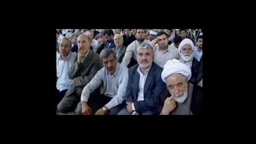 Video Ve světě se demonstruje za propuštění Íránců