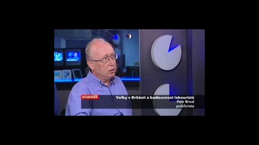 Video Petr Brod o doplňujících volbách v Británii