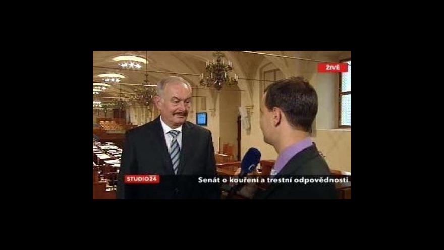 Video Rozhovor s šéfem Senátu Sobotkou