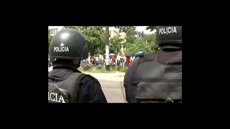 Video Svržený Zelaya se do Hondurasu vrátí nejpozději v pátek