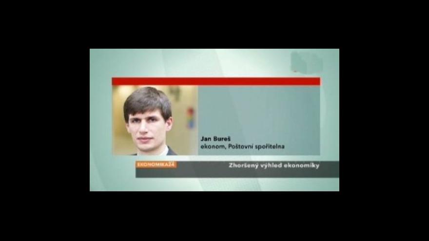 Video Rozhovor s ekonomem Janem Burešem