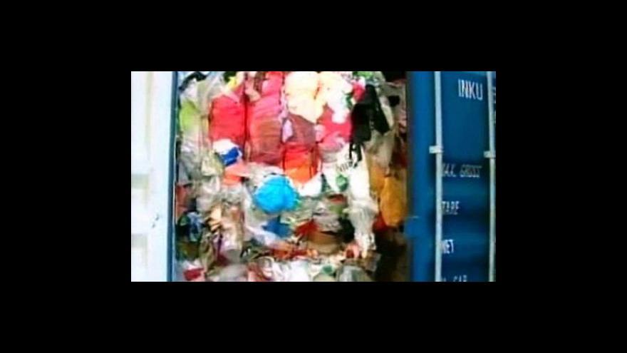 Video Brazílie vyšetřuje původ nebezpečného odpadu