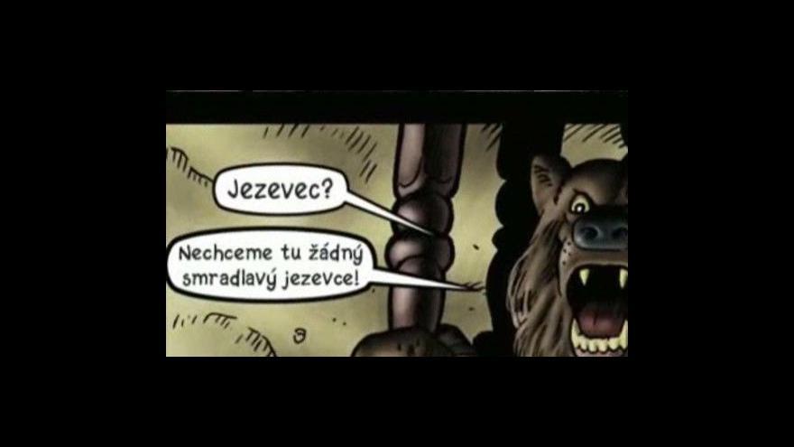 Video Listování Talbotovým komiksem