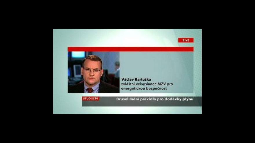 Video Komentář Václava Bartušky