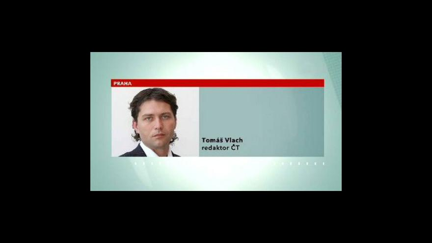 Video Telefonát Tomáše Vlacha