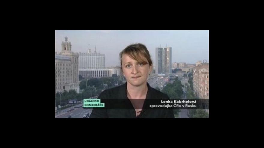 Video Vstup Lenky Kabrhelové v Událostech, komentářích