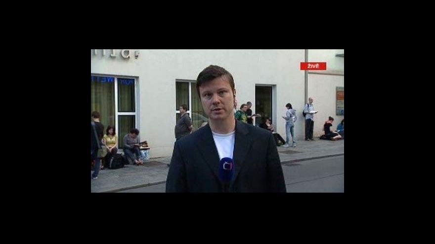 Video Vstup Jana Moláčka z Vídně