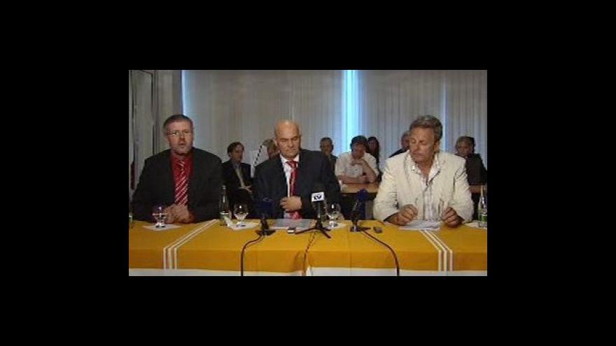 Video Brífink po volbě nového generálního ředitele ČT