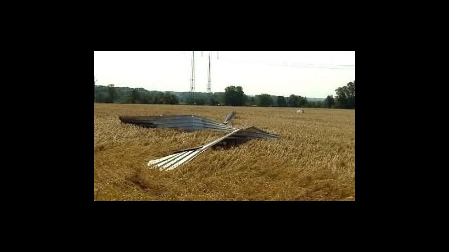 Video Bouřky řádily na Olomoucku