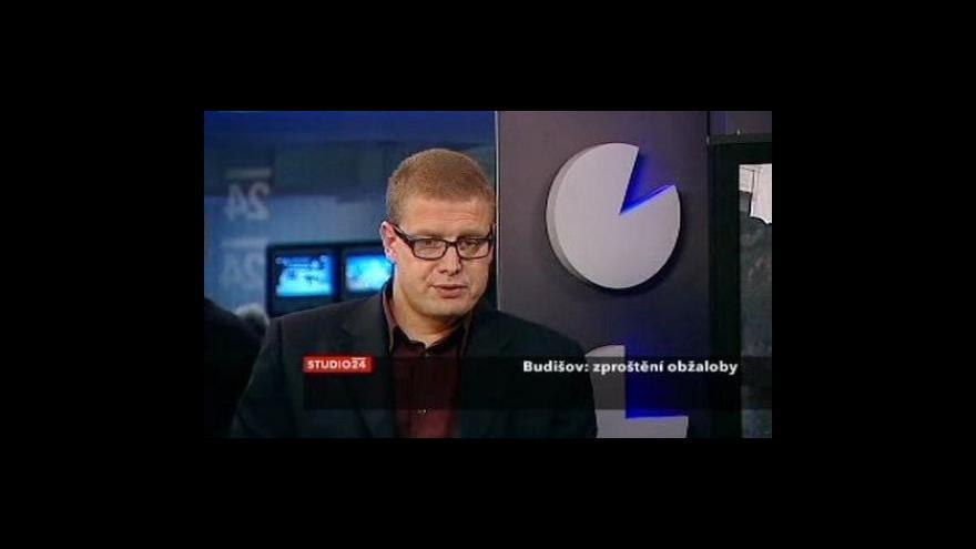 Video Rozhovor s Jindřichem Šídlem ve Studiu ČT24