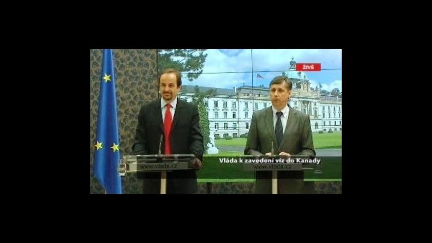 Video TK premiéra Fischera k zavedení víz