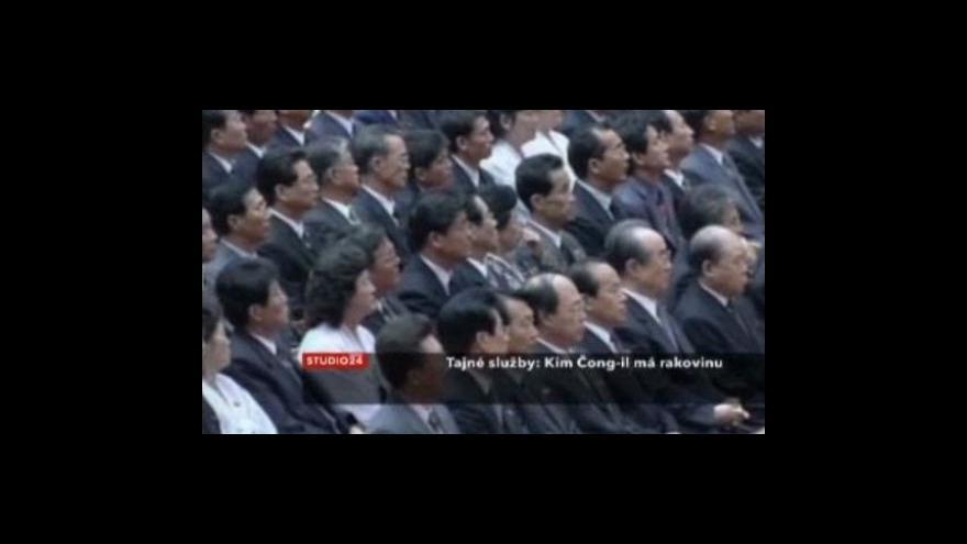 Video Studio ČT24 o Kim Čong-ilovi