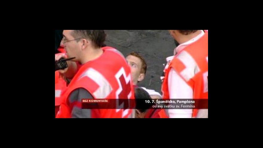Video Bez komentáře: Tradiční běh ulicemi s býky