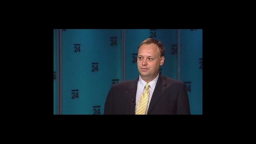 Video Politolog Jan Bureš v pořadu Události, komentáře