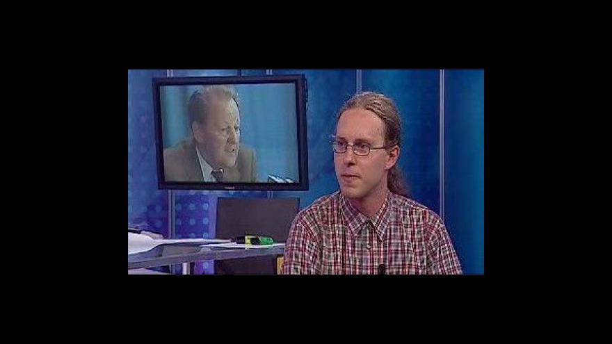 Video Analýza projevu Jana Šindeláře