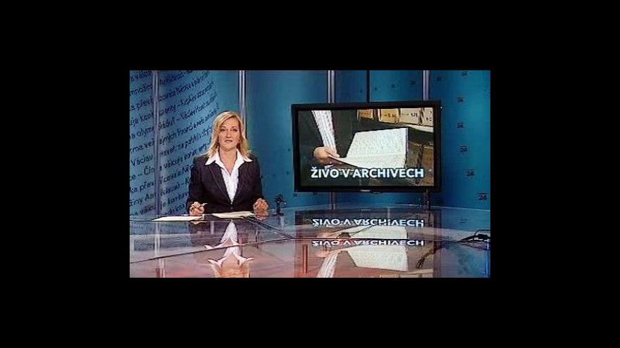Video Události, komentáře o komunistických archiváliích