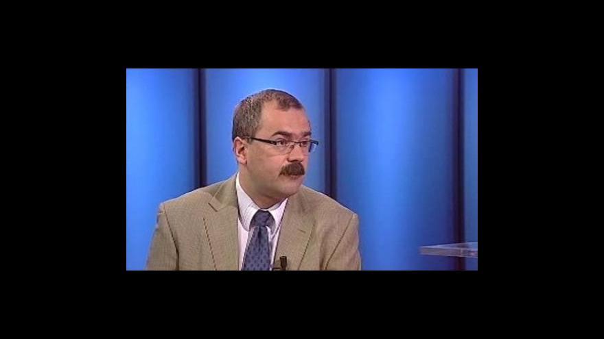 Video Pavel Žáček hostem Studia 6