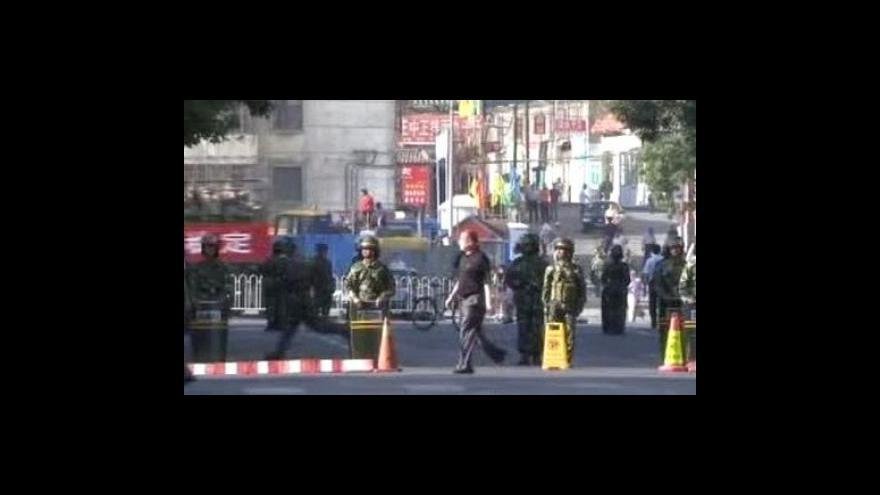 Video Situace v Urumči je stále napjatá