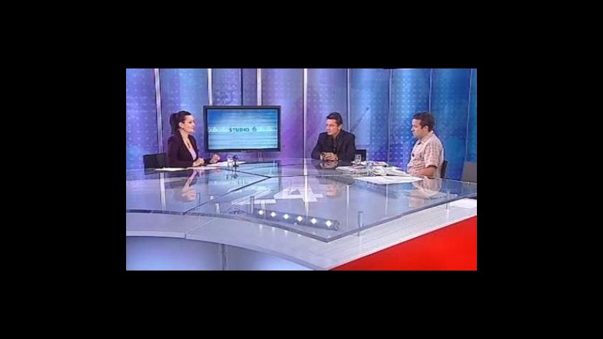 Video Dalibor Lacina a Michal Petrák ve Studiu 6