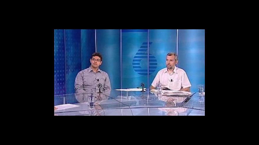 Video Georgis Yiannakou a Jaroslav Říha ve Studiu 6
