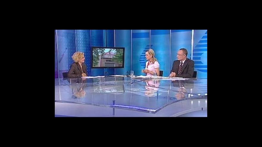 Video Daniela Kovářová hostem Studia 6