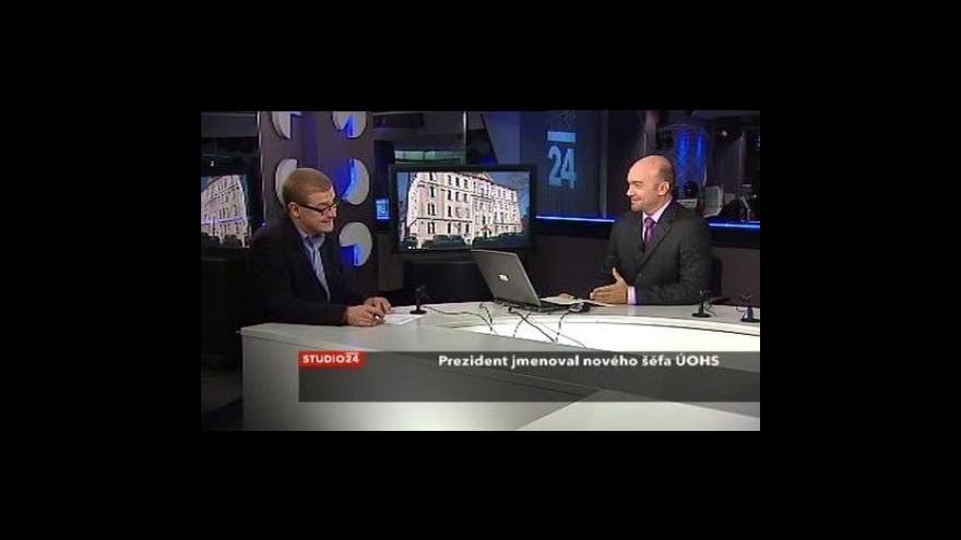 Video Analytik ČT Jindřich Šídlo ve Studiu ČT24