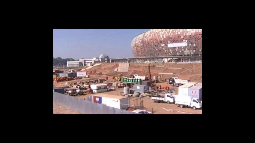 Video Stávka ohrožuje výstavbu stadionů v JAR