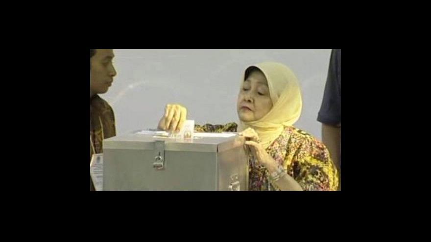 Video Předběžné výsledky prezidentských voleb v Indonésii