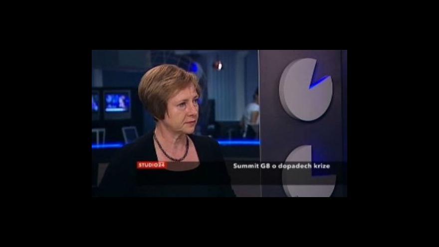Video Telefonát Davida Miřejovského a rozhovor s Ludmilou Štěrbovou