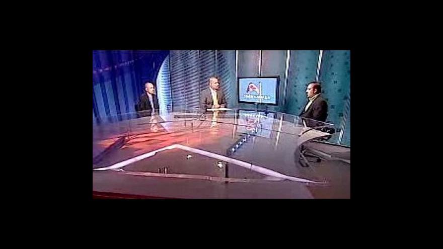 Video Martin Šimáček, David Beňák a Robert Oláh v Událostech, komentářích