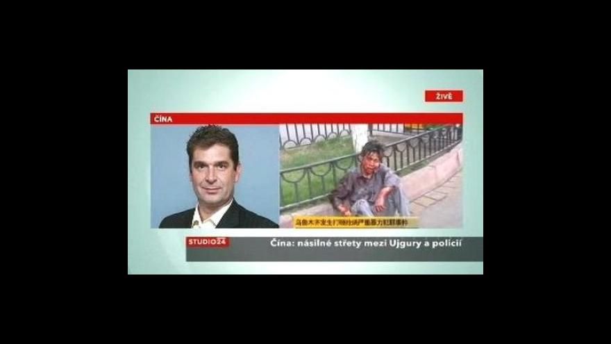 Video Studie ČT24: Nepokoje v Číně