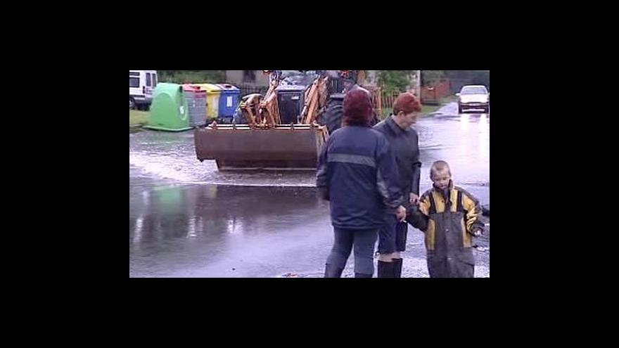 Video No comment - Povodeň v Novém Oldřichově