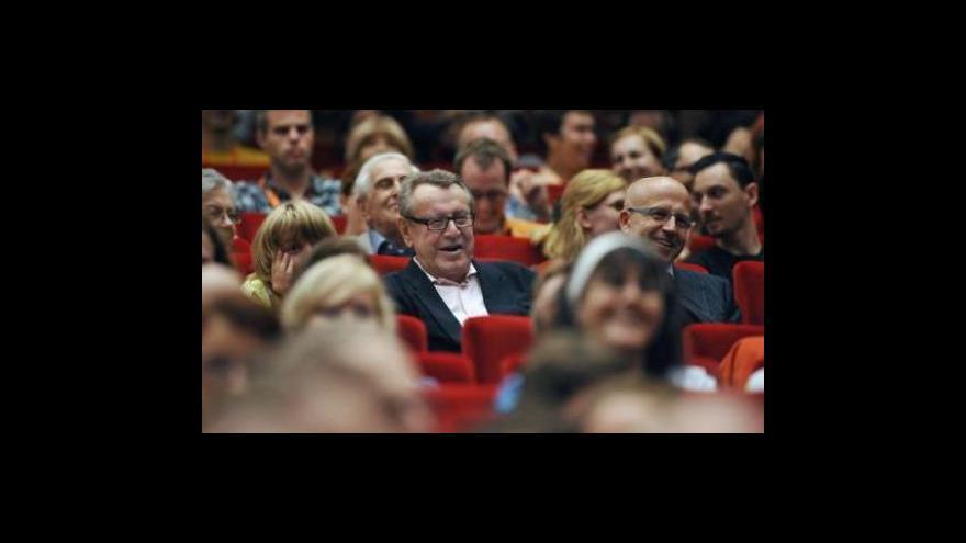 Video Reportáž a vstup Jakuba Železného