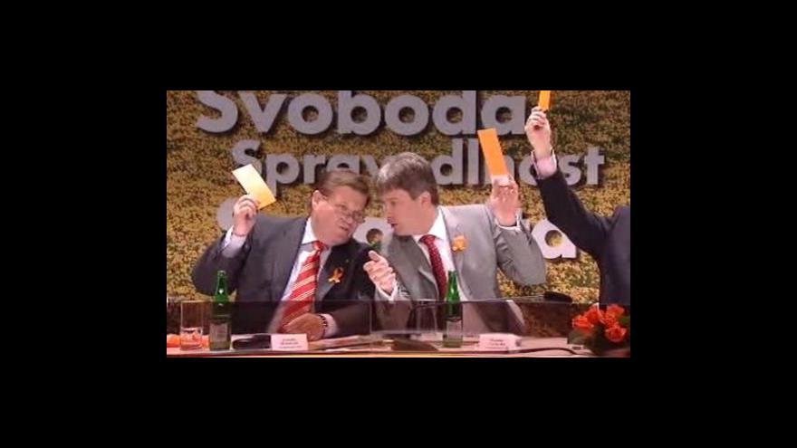 Video Programový sjezd ČSSD