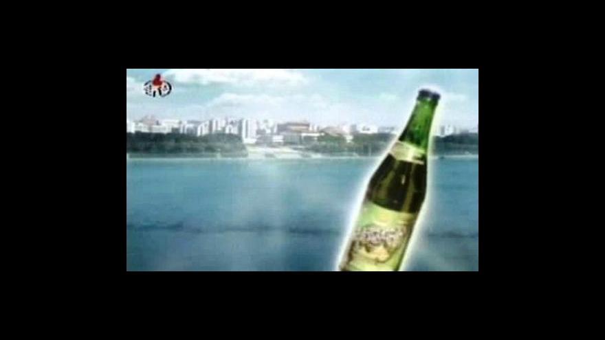 Video Severokorejská reklama na pivo