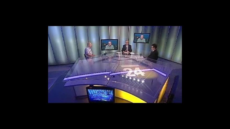 Video Rozhovor s Radimem Jančurou, Petrem Šťáhlavským a Karlem Hanzelkou