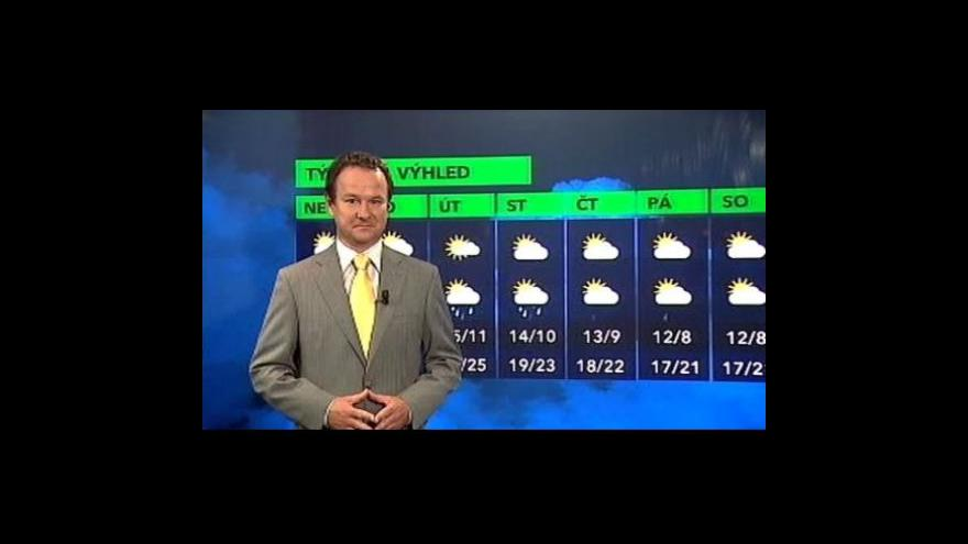 Video Pavel Karas k vývoji počasí během následujících dní