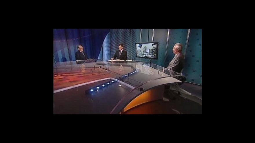 Video Jiří Drahoš a Jaroslav Doležal hosty Událostí, komentářů