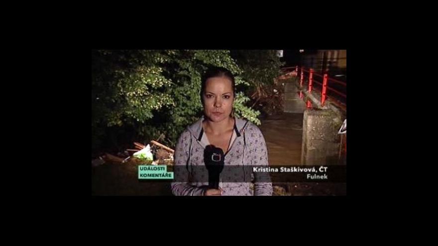 Video Večerní situace ve Fulneku a na Pelhřimovsku