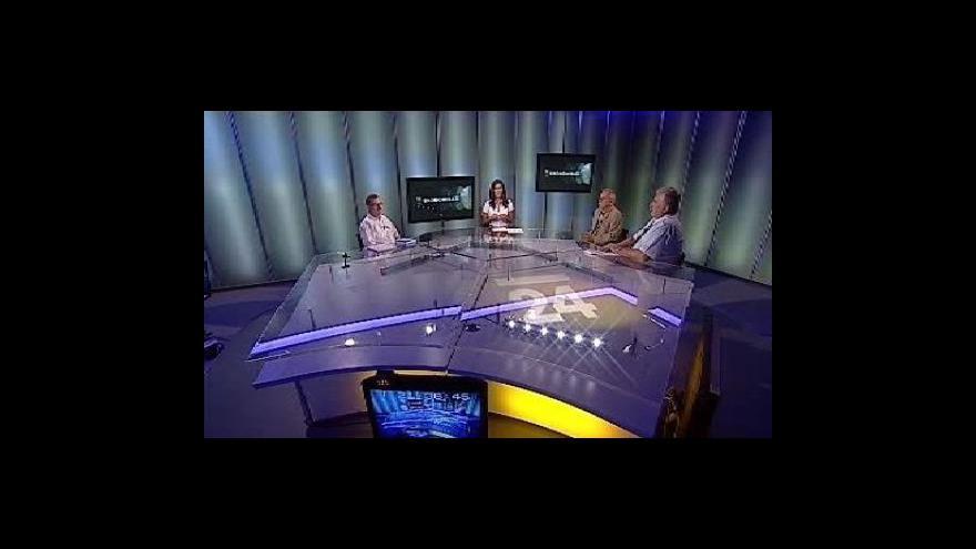 Video Rozhovor se Stanislavem Křečkem, Liborem Dellinem a Pavlem Rakoušem