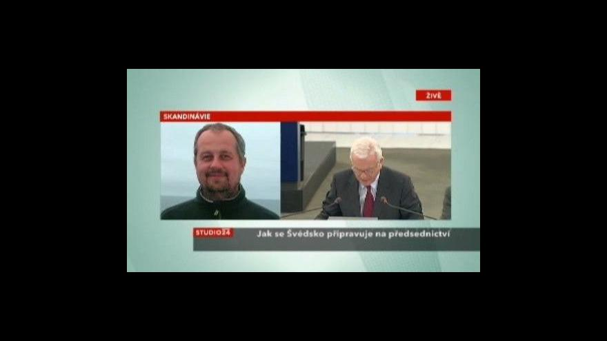 Video Tomáš Sniegoň o švédském předsednictví