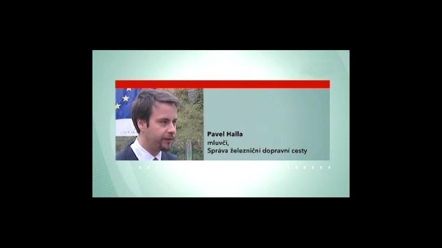 Video Pavel Halla k aktuálním vlakovým omezením