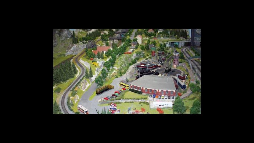 Video Modelová železnice na Smíchově